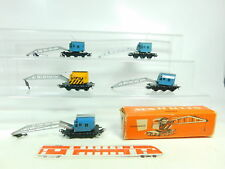 BS845-1 #5x Märklin H0 / Ac Camion Grue 4611 + 4671 Db,1 X Emballage D'Origine