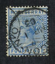 CKStamps: GB Montserrat Stamps Collection Scott#4 Used