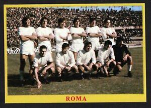 RARA FIGURINA CALCIATORI CALCIO SQUADRE BAGGIOLI ? 1975 ROMA