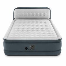 INTEX  plush superDura beam luxury air mattress with built-in air pump and bedsi