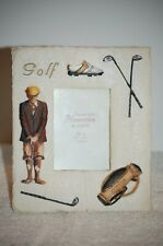 Picture Frame Golf Shoes, Golf Bag Design 3 x 5 Photo opening