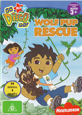 DORA the EXPLORER Wolf Pup Rescue DVD R4 / PAL