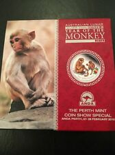 2016 Lunar Year of the Monkey Colored 2 oz .999 silver Proof ANDA Coin Show