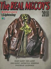 The REAL McCOY'S 2018 Catalogue Magazine Book WW2 Flight Rider Deck Jacket Buco