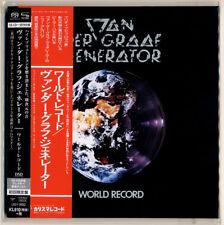 Van der Graaf Generator-World Record Japan mini lp SHM CD SACD New! sold out!