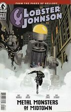 Lobster Johnson Metal Monsters Of Midtown #1 (NM)`16 Mignlola/ Arcudi/ Zonjic