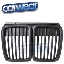 BMW E30 3-SERIES 83-91 BLACK KIDNEY GRILLS / GRILLES M3 LOOK