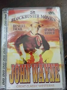 John Wayne Great Classic Westerns: Desert Trail/Dawn Rider, Very Good DVD