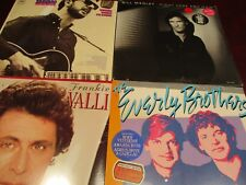 EVERLY BROTHERS  BILL MEDLEY FRANKIE VALLI DION ANALOG RARE 1980'S RELEASED LP'S