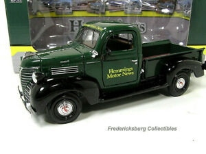 CROWN PREMIUMS - HEMMINGS 1941 PLYMOUTH PICKUP TRUCK - NUMBERED LIMITED EDITION