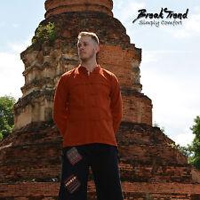 Langarm Kung Fu Kampfsporthemd Yoga Meditation Tai Chi Mahogany 20803