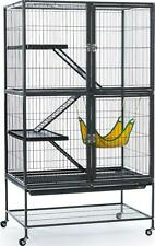 Black Ferret Cage Feisty Chinchilla Hamster Rabbit Guinea Pig Small Pets Home