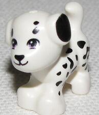 LEGO NEW SPOTTED DALMATIAN DOG PUPPY ANIMAL FRIENDS PIECE