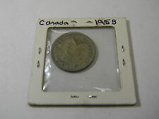 1955 Canada 25 Cents