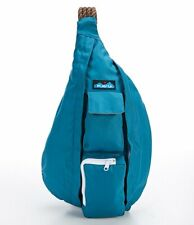 KAVU Womens Rope Bag Backpack 944-852 Sling Travel Solid Blue TRANQUIL NWT