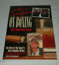 On Boxing by Bert Sugar SIGNED Autographed Paperback Inscribed American Sports