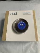 Google Nest T200577 Learning Thermostat (2nd Generation) New