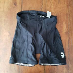 "Pearl Izumi Large Cycling Shorts Compression Padded Select Black L 8"""