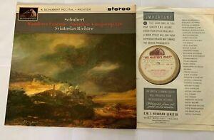 Schubert Recital Richter Stereo HMV  Gold And White ED1 ASD 561 NM