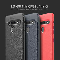 Ultra Thin Luxury PU Leather Soft TPU Shockproof Case Cover For LG G8 ThinQ