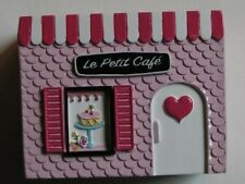 I Love Paris Toothbrush Holder Le Petit Cafe Pink New With Tags