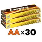 30 x AA ENERGIZER INDUSTRIAL PROFESSIONAL ALKALINE BATTERIES LR6 MN1500 1.5V
