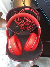 Beats by Dr. Dre Studio 2.0 Wired, Includes Both Wires and Case. *Small Crack*