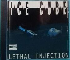 RARE ICE CUBE ( Lethal Injection ) CD ALBUM 12 TITRES 1993 RAP US