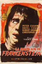 Curse of Frankenstein Original 1958 movie Herald starting Peter Cushing