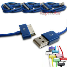 3X 3FT USB TO 30PIN BLUE CABLE DATA SYNC CHARGER SAMSUNG GALAXY TAB P3100 P3110