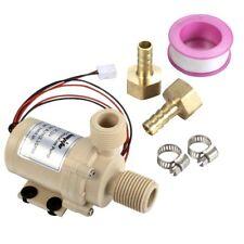 Solid Quality 12V DC Solar Hot Water Circulation Pump Food Grade 3M Head 8L/Min