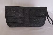 STAR By JULIEN MACDONALD Black Silver Evening Prom Occasion Party Clutch Bag