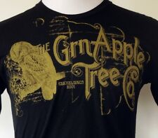 The Grn Apple Tree Co. Vintage Owl Print Black S/S T-Shirt M Made in USA