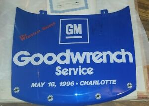 """Dale Earnhardt Sr Autographed Hood By Sports Image """"VERY RARE"""" Signed COA w/box"""