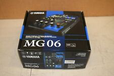 Yamaha Mg06 6-Channel Mixer in box