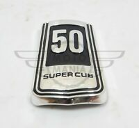Honda super cub Front badge emblem 50CC badge C50