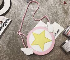 Girls Shoulder Bag Card Captor Sakura Kinomoto Cross Body Bag Purse Wallet Gift