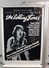 The ROLLING STONES Ladies & Gentlemen Original Poster MICK JAGGER Concert film