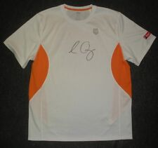 2012 Us Open Sam Querrey Second Round Match Used Worn K-Swiss Signed Shirt