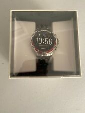 FOSSIL GARRETT HR FTW4040 Touchscreen GEN 5 Mens Smartwatch Stainless Steel