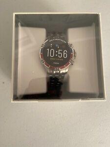 FOSSIL GARRETT HR FTW4040 Touchscreen GEN 5 Mens Smartwatch Stainless Steel