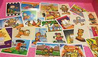 Vtg Garfield Sticker LOT (5) RANDOM 1996 VINTAGE