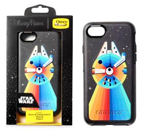OTTERBOX Millennium Falcon Rainbow 8/7/SE 2nd Gen iPhone Case Star Wars ✿ Disney