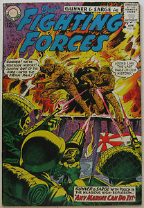 Our Fighting Forces #83 (Apr 1964, DC), VFN-NM condition