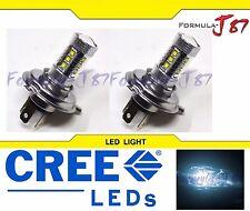 CREE LED 80W HS1 12V WHITE 6000K TWO BULB HEADLIGHT SHOW LAMP PLUG PLAY OFF ROAD