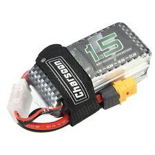 Charsoon 11.1V 1500mAh 50C 3S Lipo Battery XT60 Plug With Strap