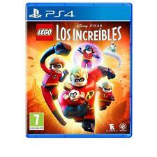 LEGO LOS INCREIBLES PS4 JUEGO FÍSICO PARA PLAYSTATION 4 DE WARNER PIXAR