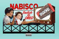 Nabisco Oreo Animated Billboard Sign #88-1751 HO or O Scale Miller Engineering