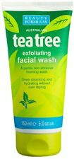 Beauty Formulas -Australian tea tree Exfoliating Facial wash 5. fl oz