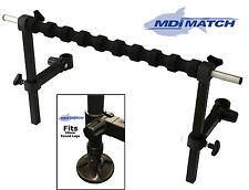 Mdi match pole spray support barre de pole fishing pour 30mm maver, carte jambes